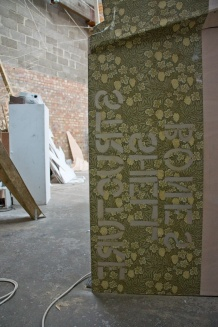 Wallpaper stencil
